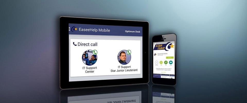Aplicatie mobile suport IT